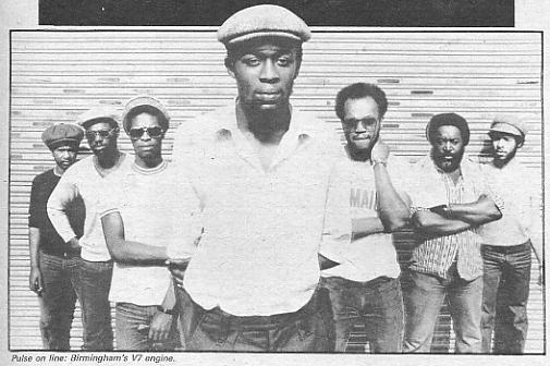 Steel Pulse line-up for the camera (photo - NME)
