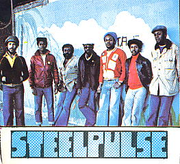 Steel Pulse on the cover of ZigZag magazine.