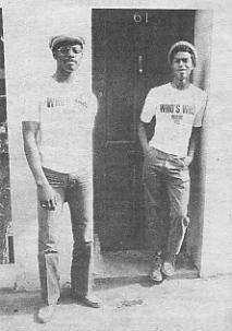 Michael Riley (left) and David Hinds [photo Sounds]
