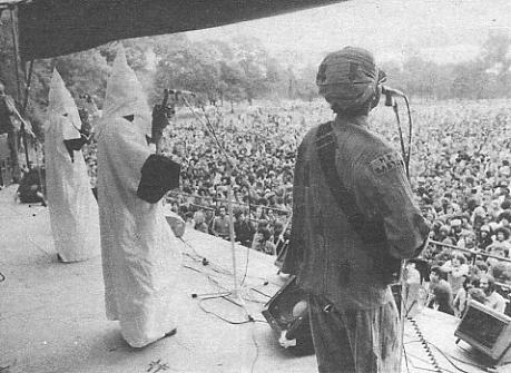Steel Pulse on stage at Victoria Park, 30 April 1978.