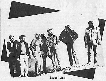 An early photo of Steel Pulse from the article.