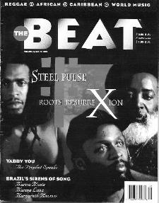 David Hinds, Selwyn Brown and Steve Nisbett on the cover of The Beat, 1995.