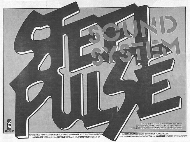 NME advert for Sound System
