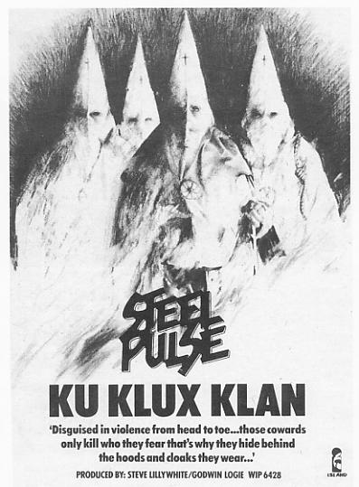 An advert for Ku Klux Klan in the New Musical Express.