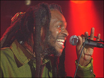 David Hinds, lead singer with Steel Pulse, mnakes a welcome return to his hometown stage (Photo: BBC)