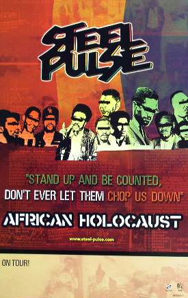Steel Pulse - African Holocaust 2004 poster
