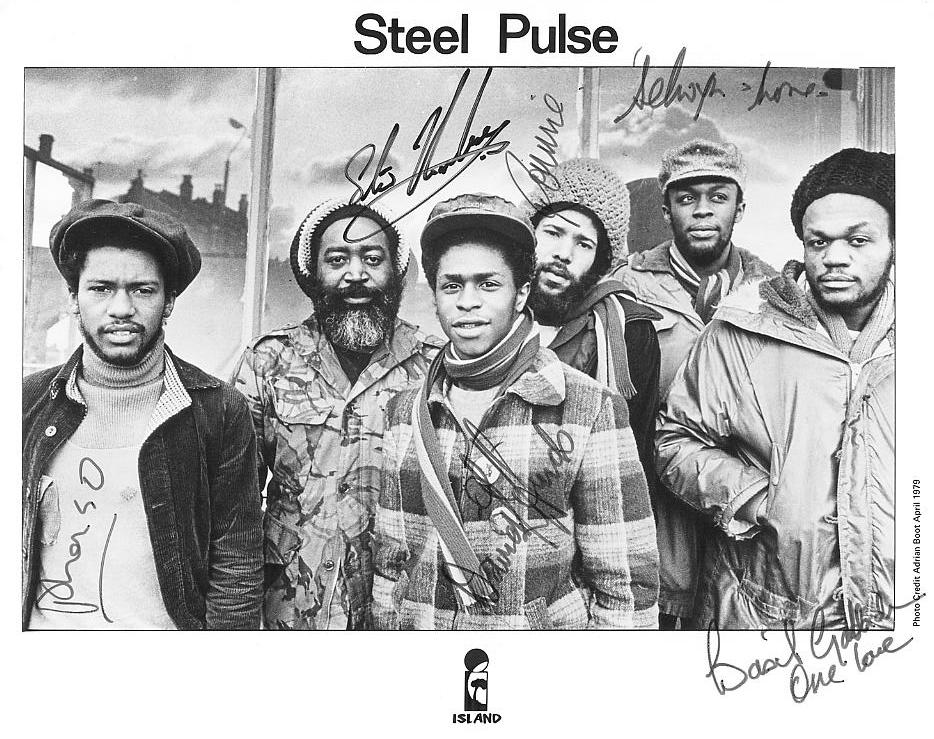 1979 publicity photo signed by each member of the group.