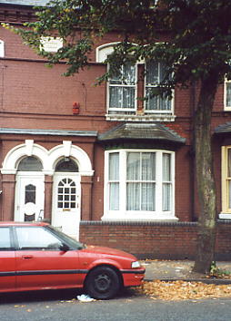 16 Linwood Road, Handsworth. Home to Steel Pulse and the Hinds family.