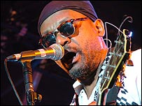 Basil Gabbidon at 2005 Reggae Rockz festival.