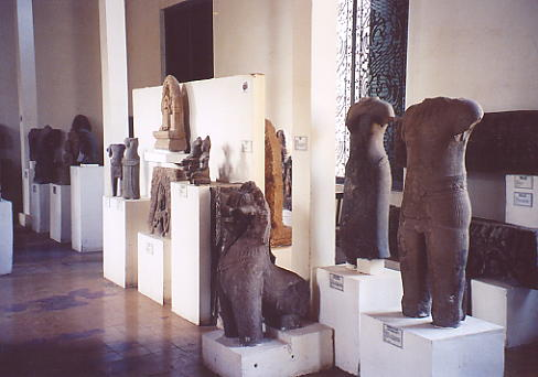Inside the Provincial Museum.