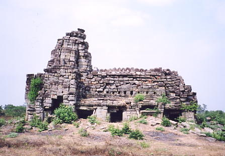 The dharmasala (rest house) near the entrance to Banteay Chhmar.