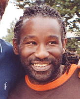 Wayne 'C-Sharp' Clarke - drummer with Steel Pulse, pictured Sept 2005.