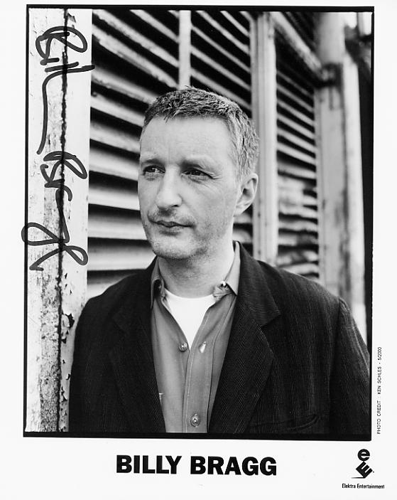 Billy Bragg - a favourite singer-songwriter of mine for many years - click to enlarge.