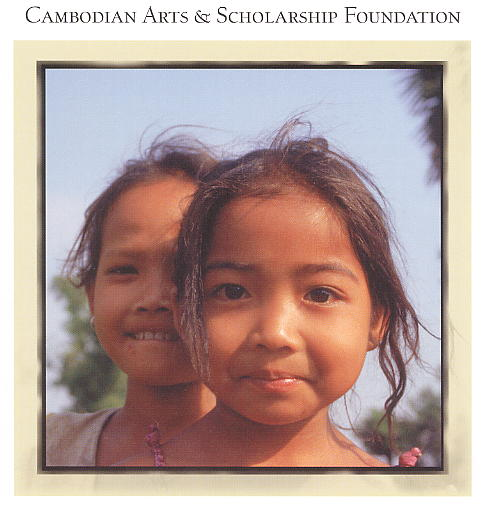 The face of The Cambodian Arts & Scholarship Foundation