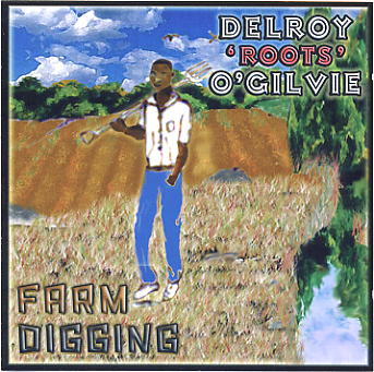 Farm Digging CD cover - click to enlarge.