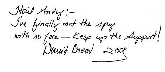 David 'Dread' Hinds autograph - Aug 2003 [courtesy Andy Brouwer]