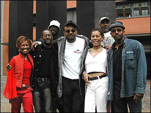 Gabbidon, the band, in 2004. [click to enlarge]