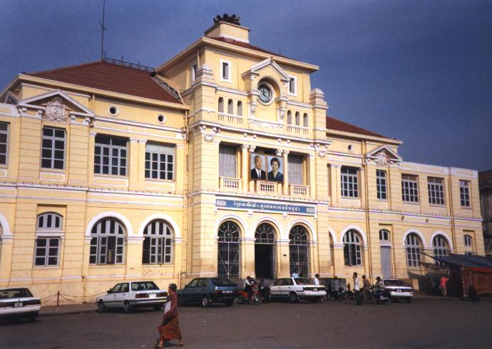 Phnom Penh's main Post Office.