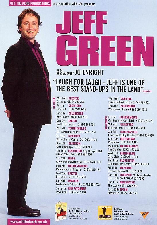 2002 tour poster