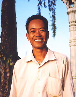Dara - a well-known guide in Kampot.
