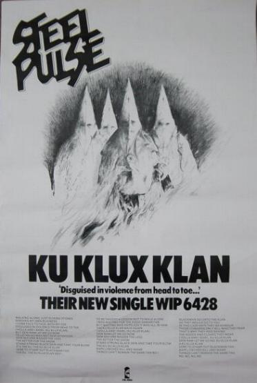 Ku Klux Klan poster [click to enlarge]