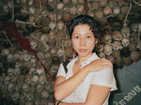 Loung Ung at Tuol Sleng