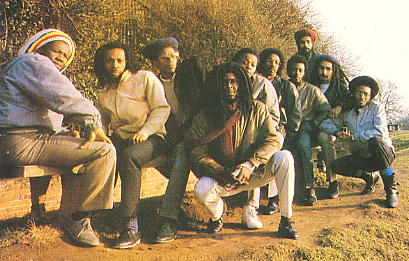 The Natural Ites & The Realistics in 1985 from the cover of their Picture album