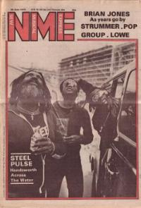 Steel Pulse on the cover of NME 30/6/79