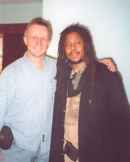 Cliff 'Moonie' Pusey  & author in Paris Nov 2004 (click to enlarge)