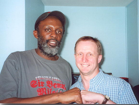 Selwyn Brown & author (click to enlarge)