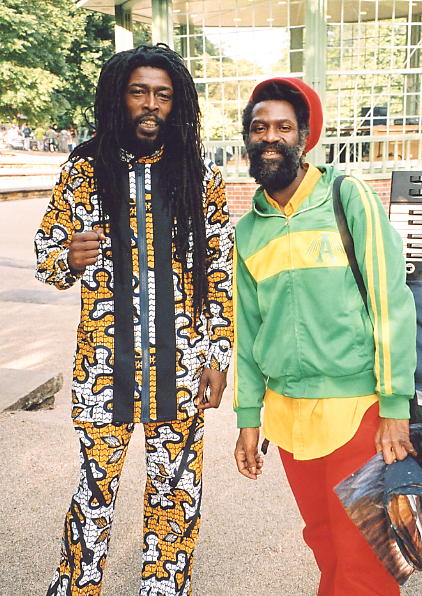 Percy Dread and Dub Judah (right).