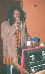 Percy Dread at the controls - March 2005.