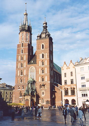 St Mary's Church, Krakow.