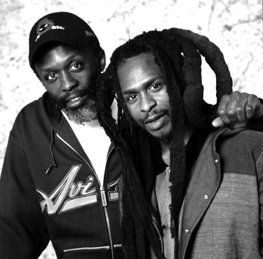 Selwyn Brown and David Hinds - 2003 publicity shot (photographer not known)