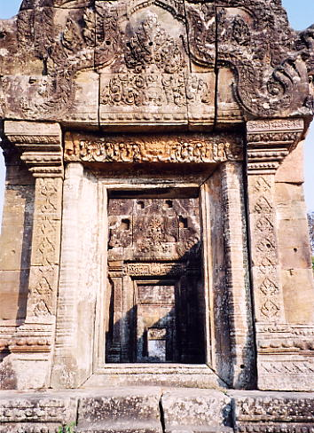 A typical doorway at Gopura IV.