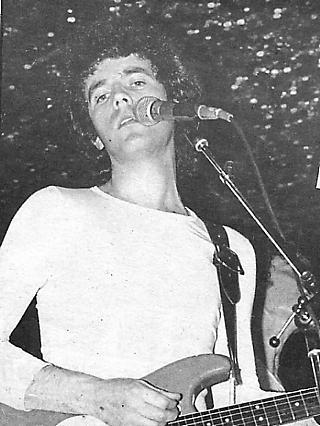 Roy Hill - Single of the Week in NME 4/11/78. Pix: M Harrison-Goudie.