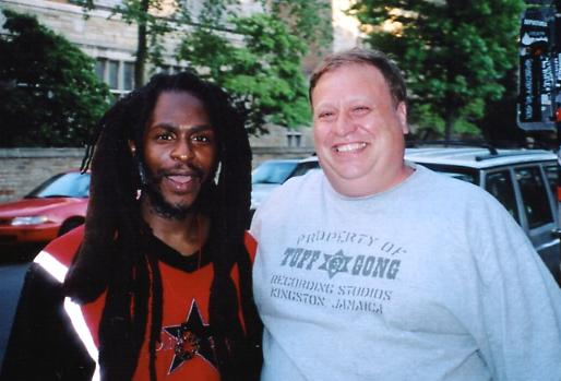 David Hinds & Roy Rowe in New Haven, July 2004.