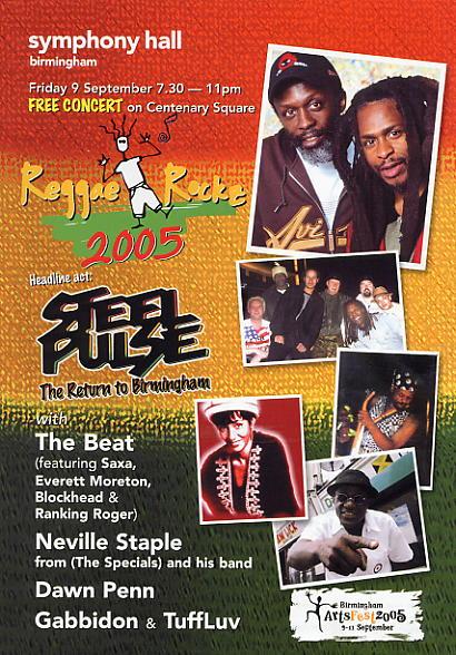 Flyer for Reggae Rockz 2005 (courtesy of www.reggaerockz.co.uk)