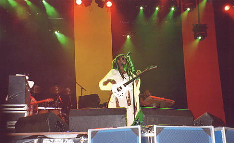 David Hinds, live and direct, at Reggae Sundance, August 2003 (photo Andy Brouwer).