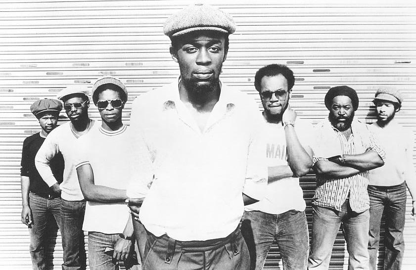 Steel Pulse line up in 1978.