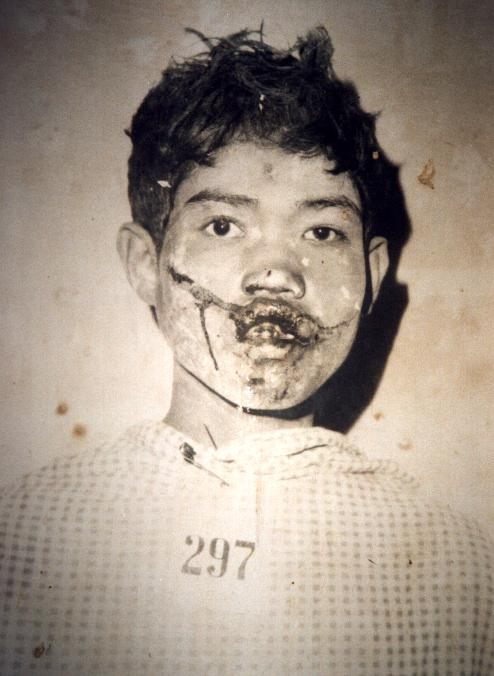 A victim of the Khmer Rouge killing machine